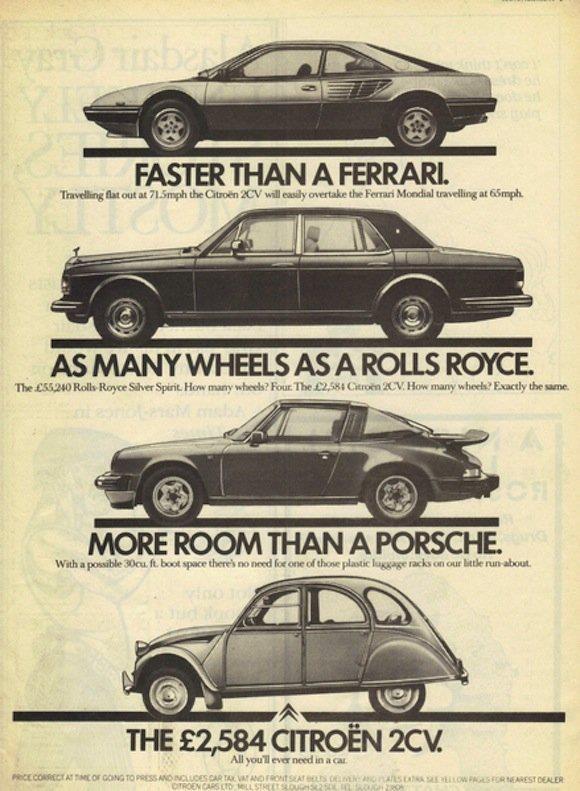 Citroën vintage ad