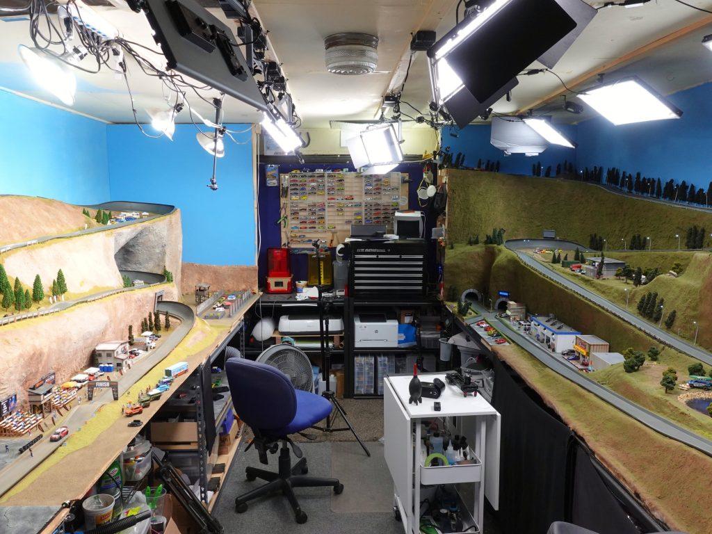 3D Botmaker race tracks