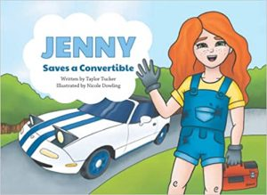 jenny saves a convertible book cover