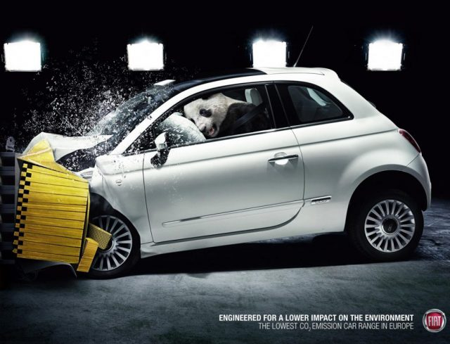 Fiat vintage ad