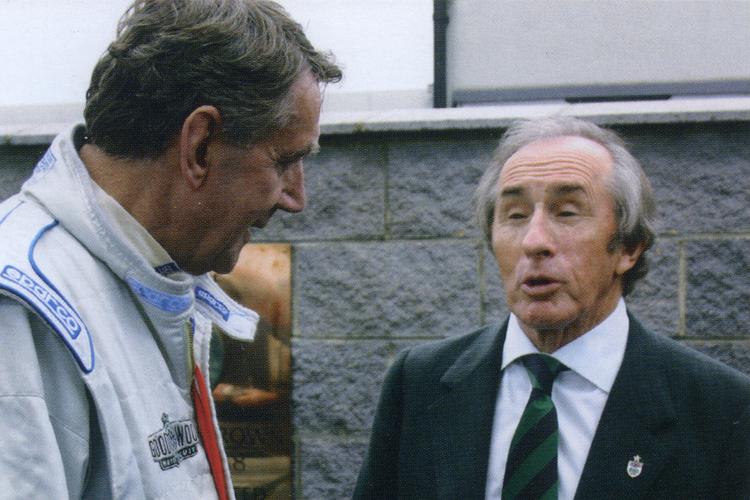 Alan Mann Racing - Alan Mann and Jackie Stewart