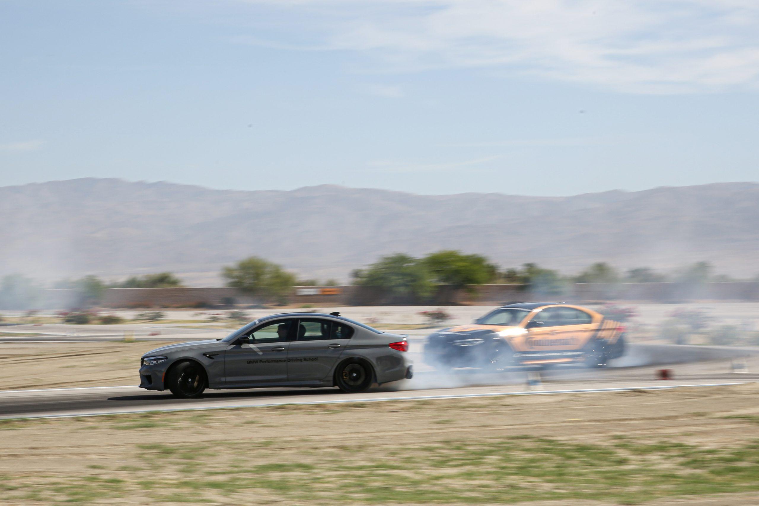 BMW Performance Driving School M5 drifting
