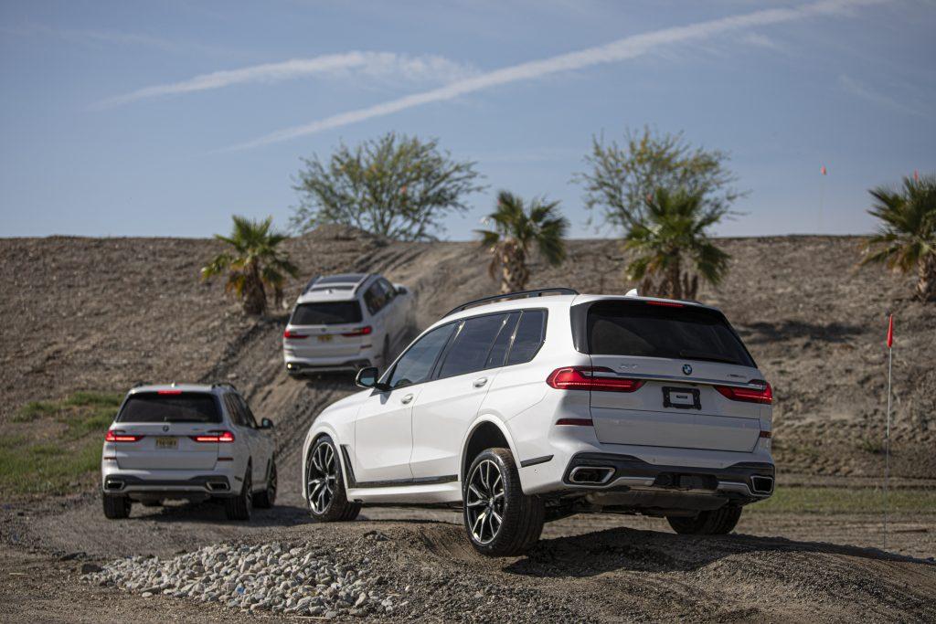 BMW X7 performance driving school