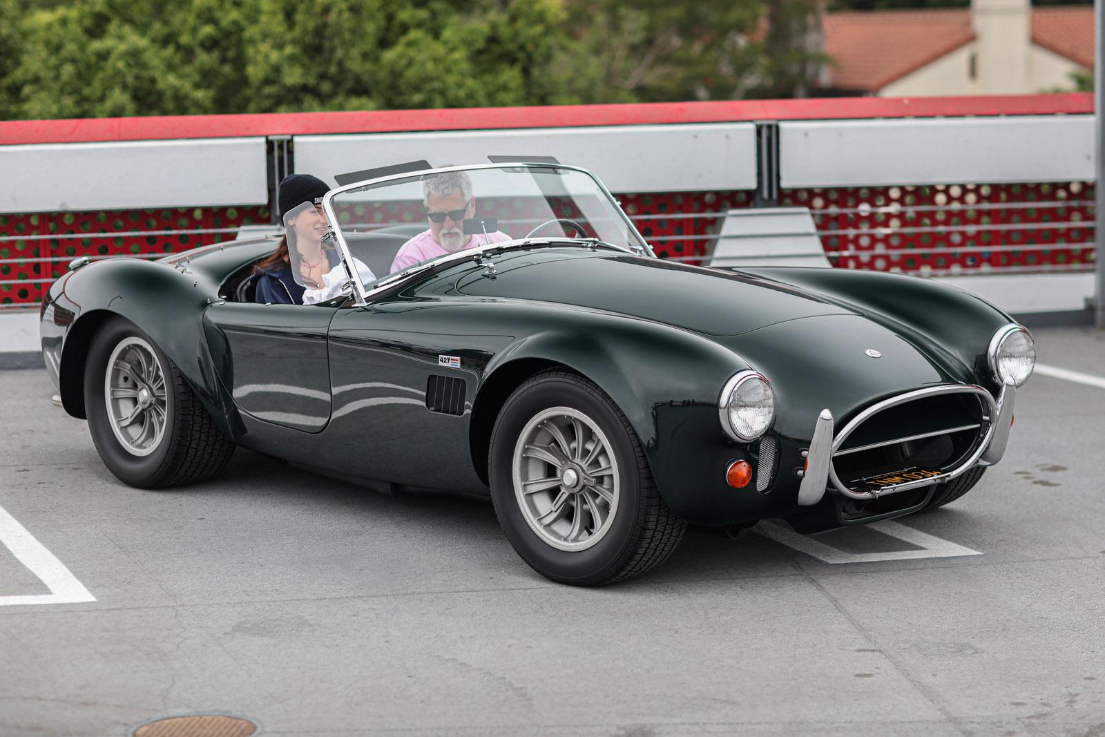 Beverly Hills Tour d'Elegance Shelby Cobra