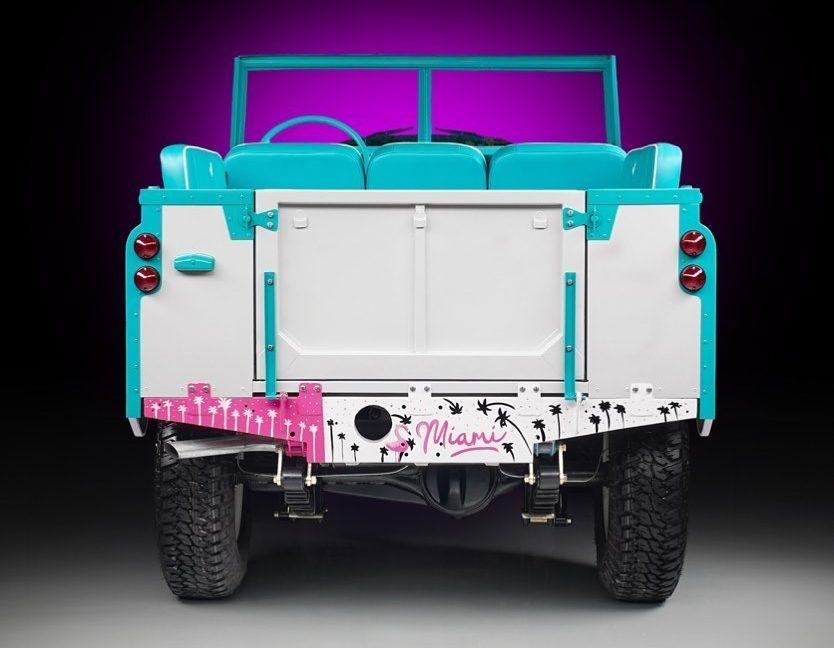 Custom Land Rover rear