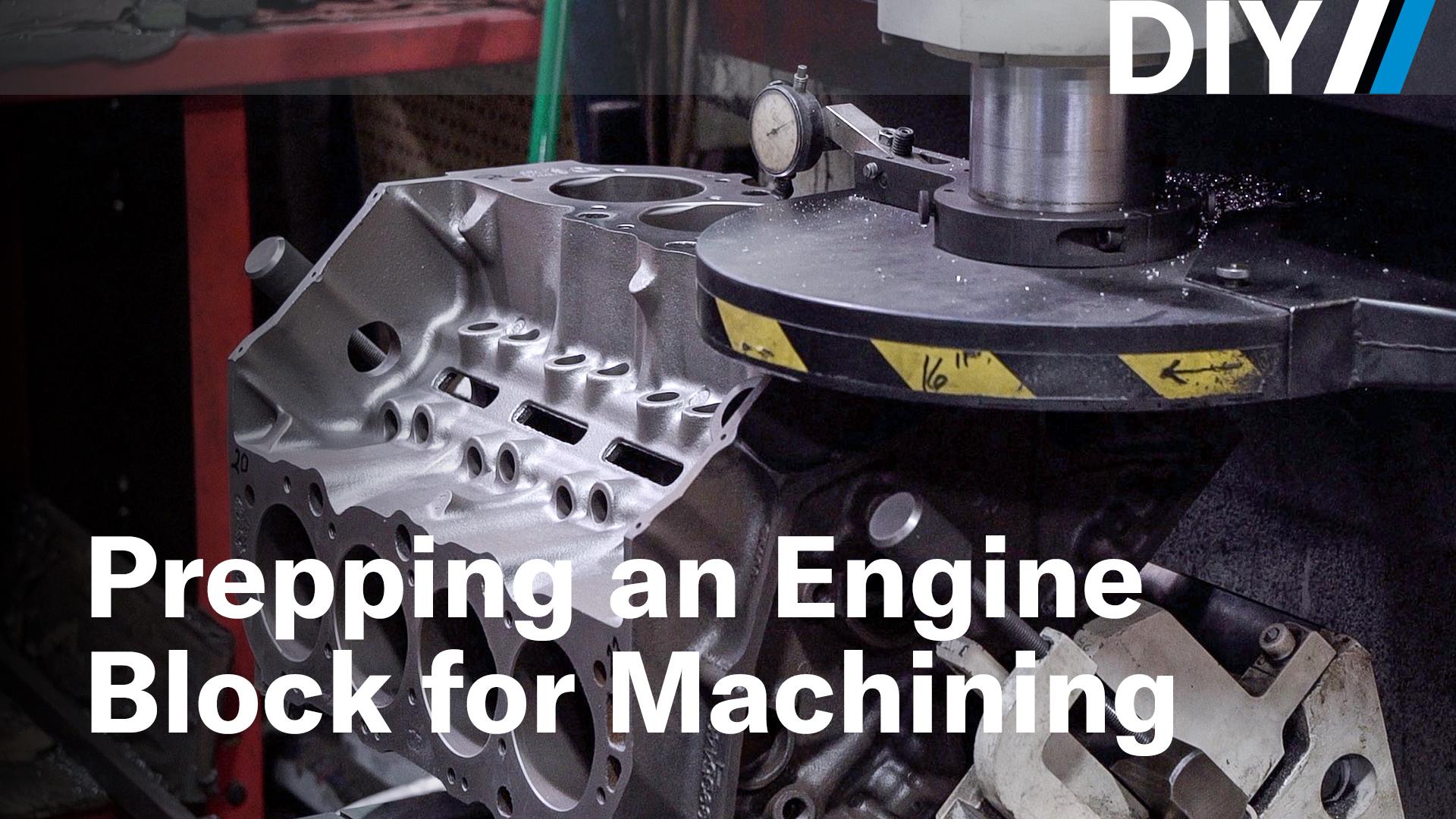 DIY prepping an engine block