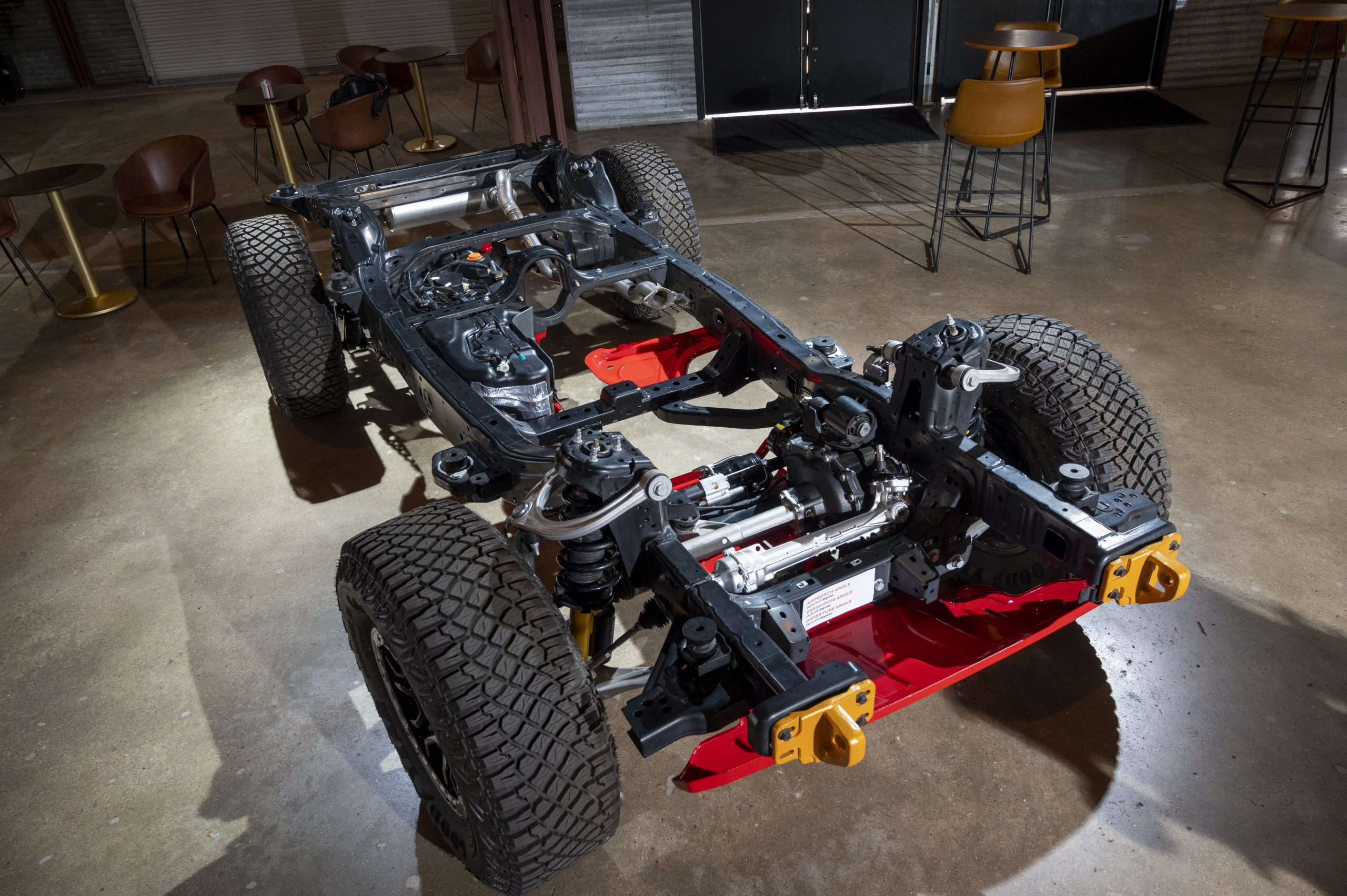 2021 Ford Bronco frame and chassis