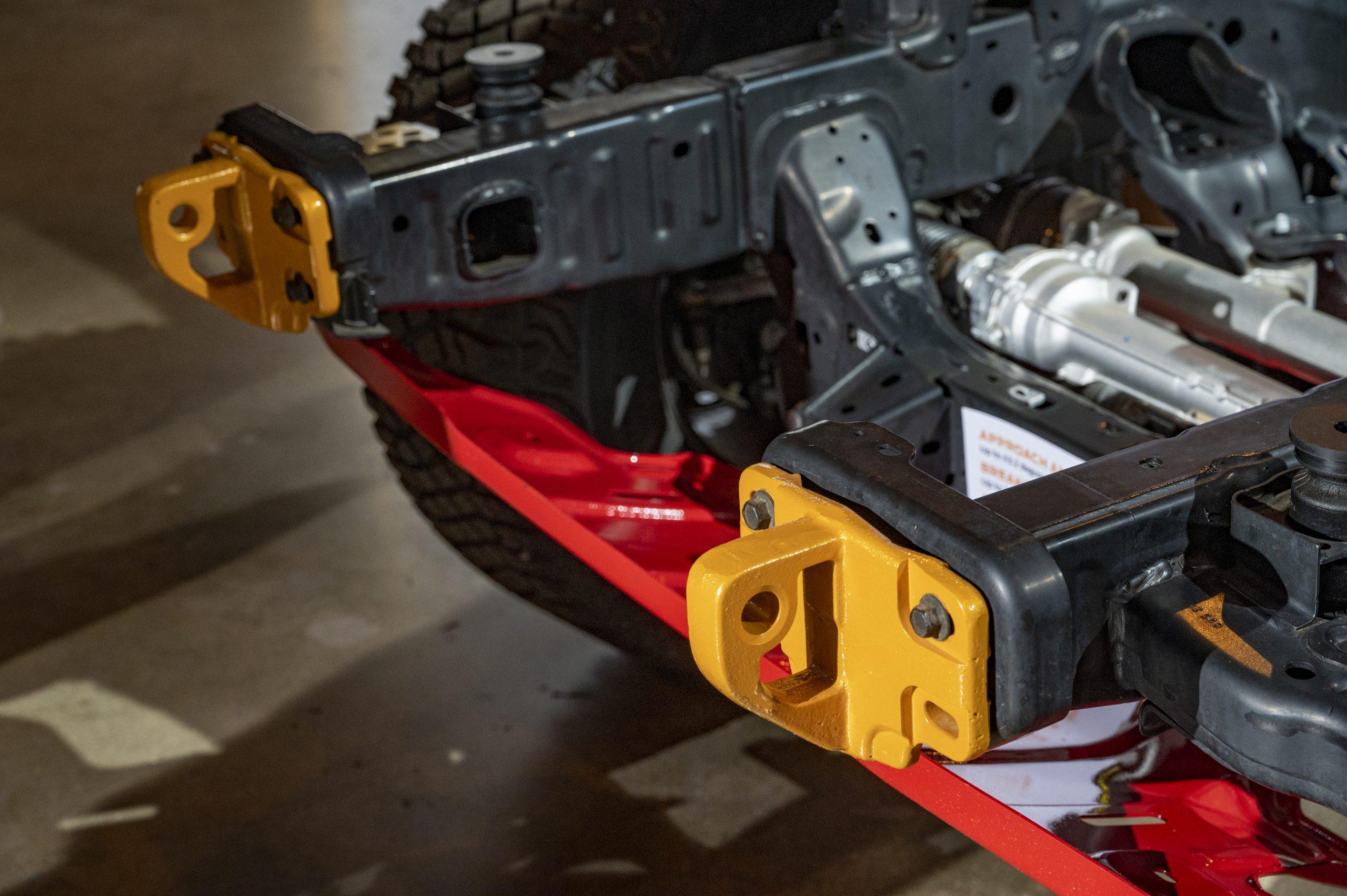 2021 Ford Bronco front frame hoods