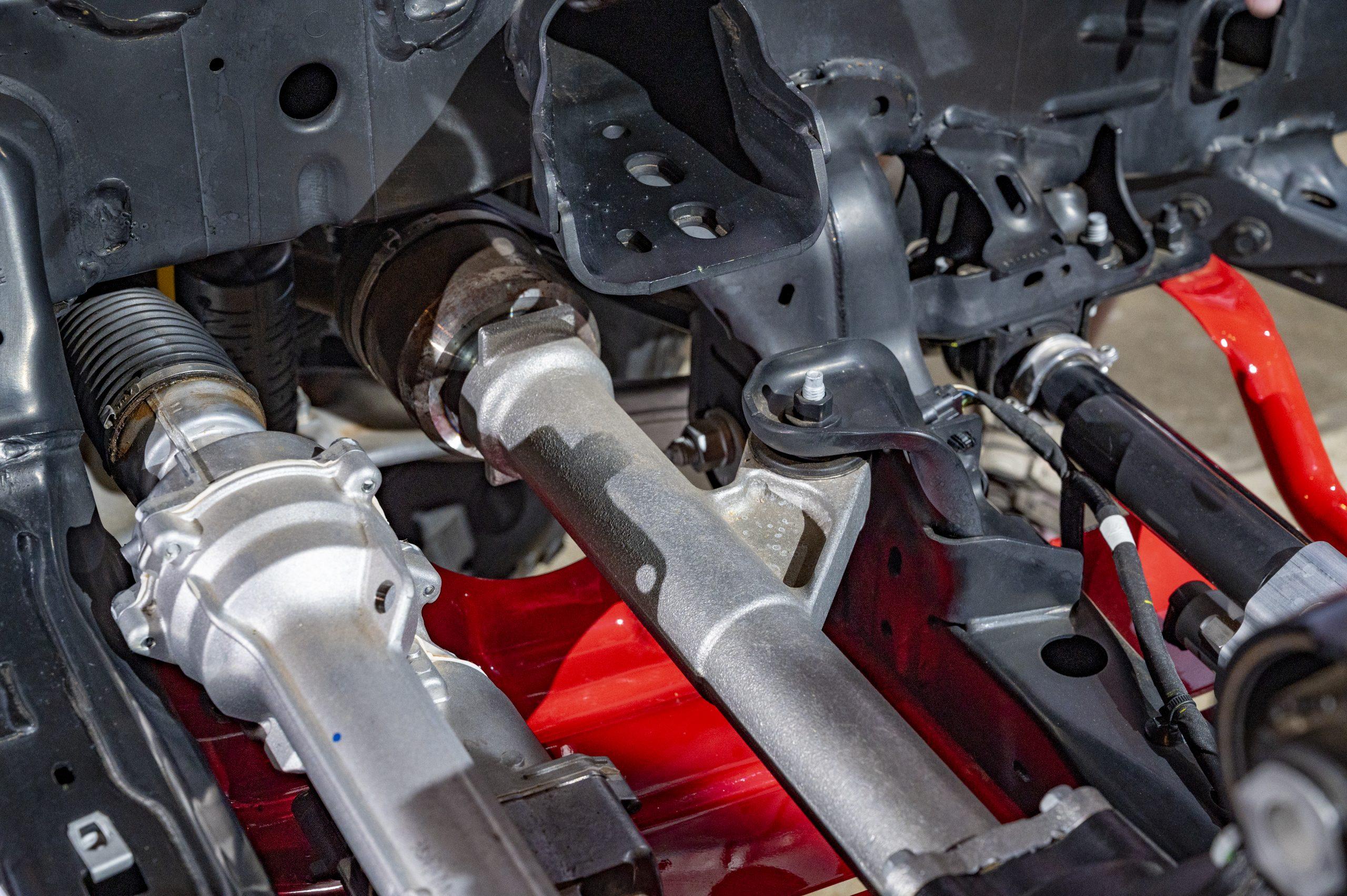 2021 Ford Bronco shafts
