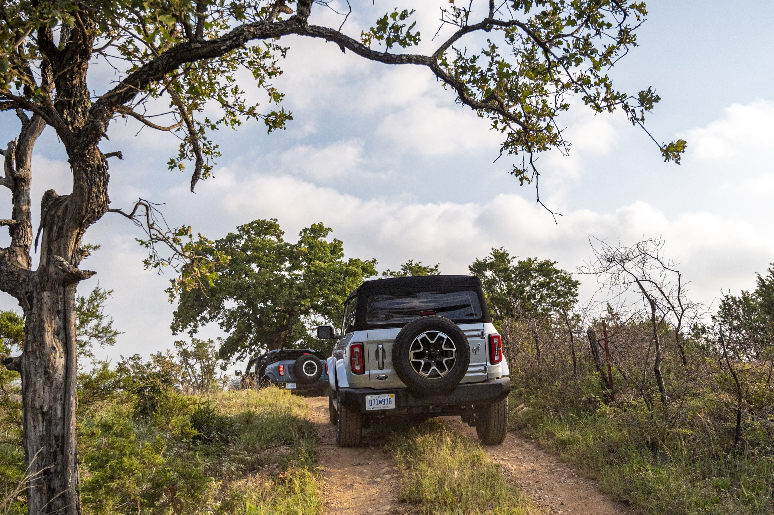 2021 Ford Bronco trail action rear