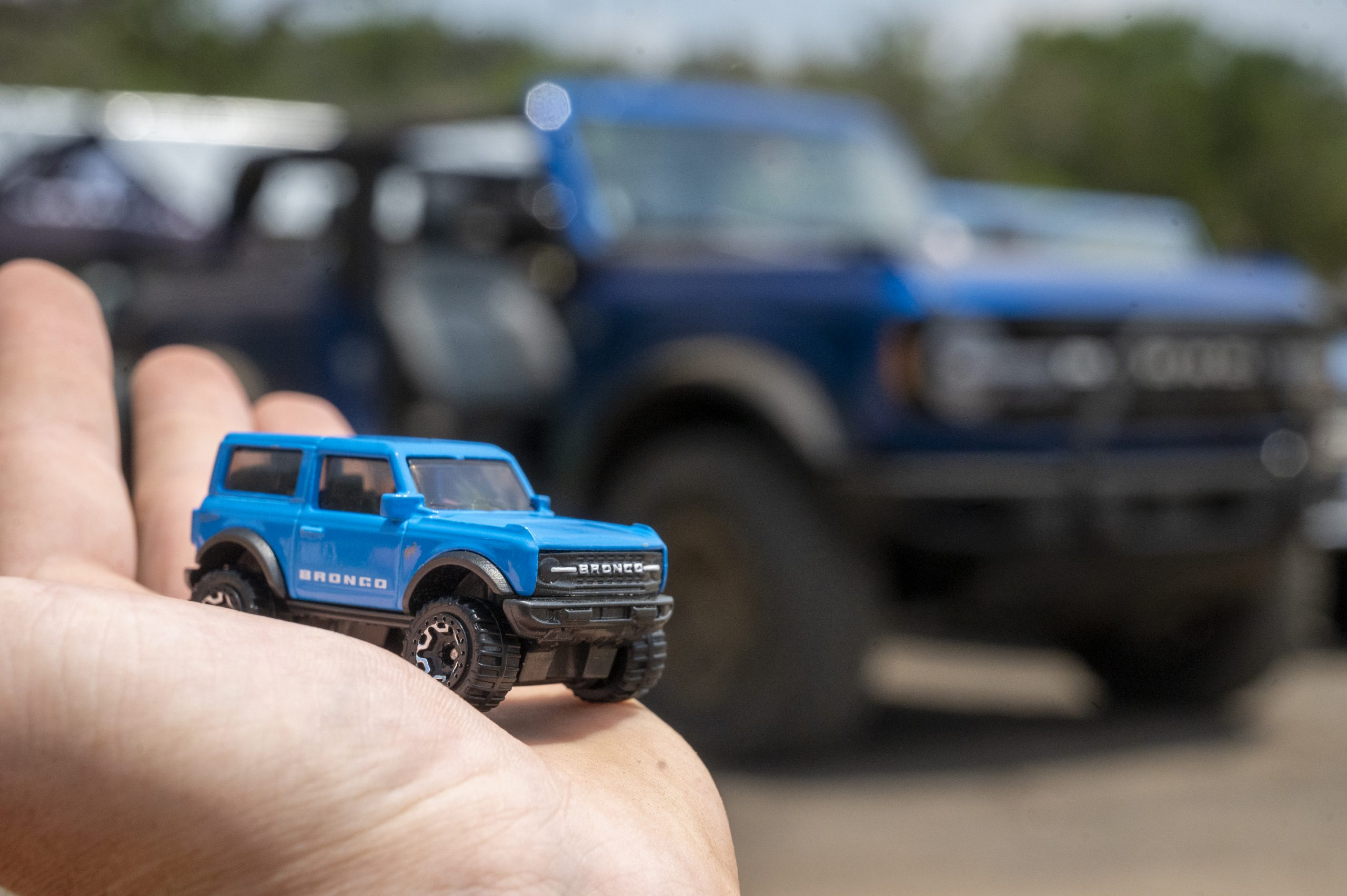 2021 Ford Bronco hot wheel and lifesize