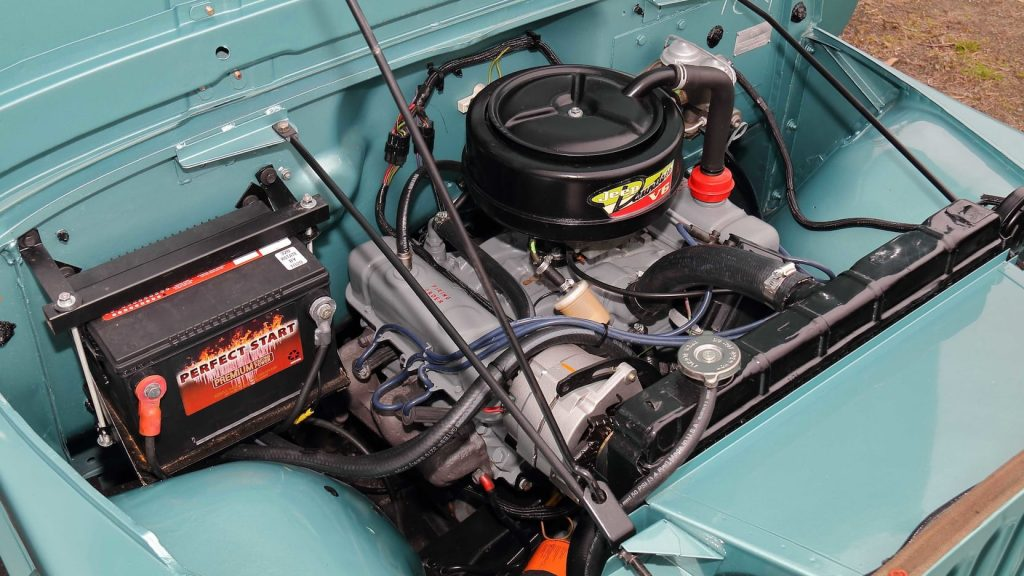 kaiser jeep Dauntless V6 engine
