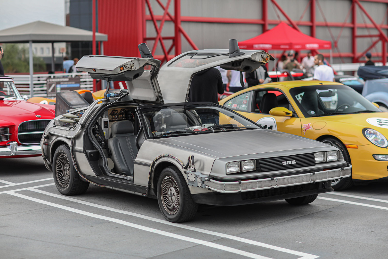 DeLorean time machine Beverly Hills Tour