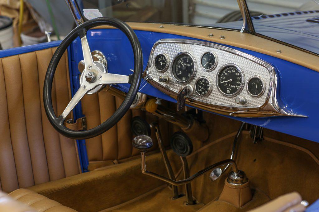 Ford Model A steering wheel