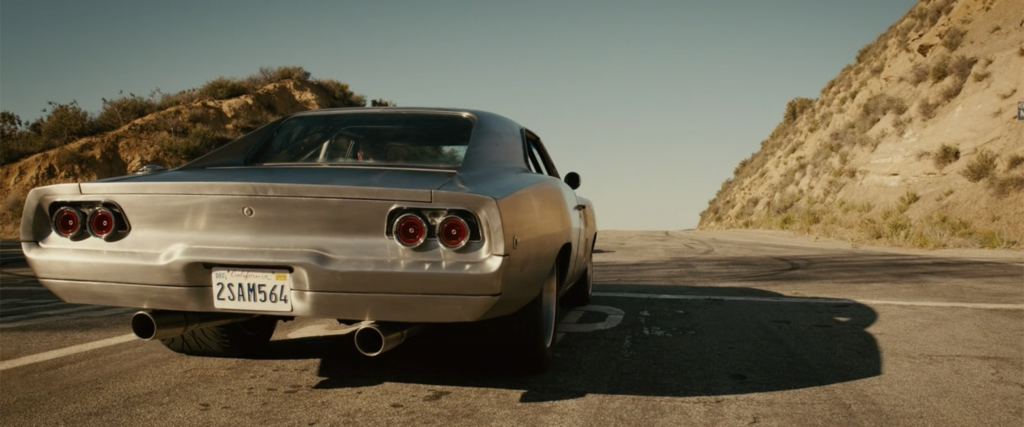 Fast Furious Maximus Charger rear