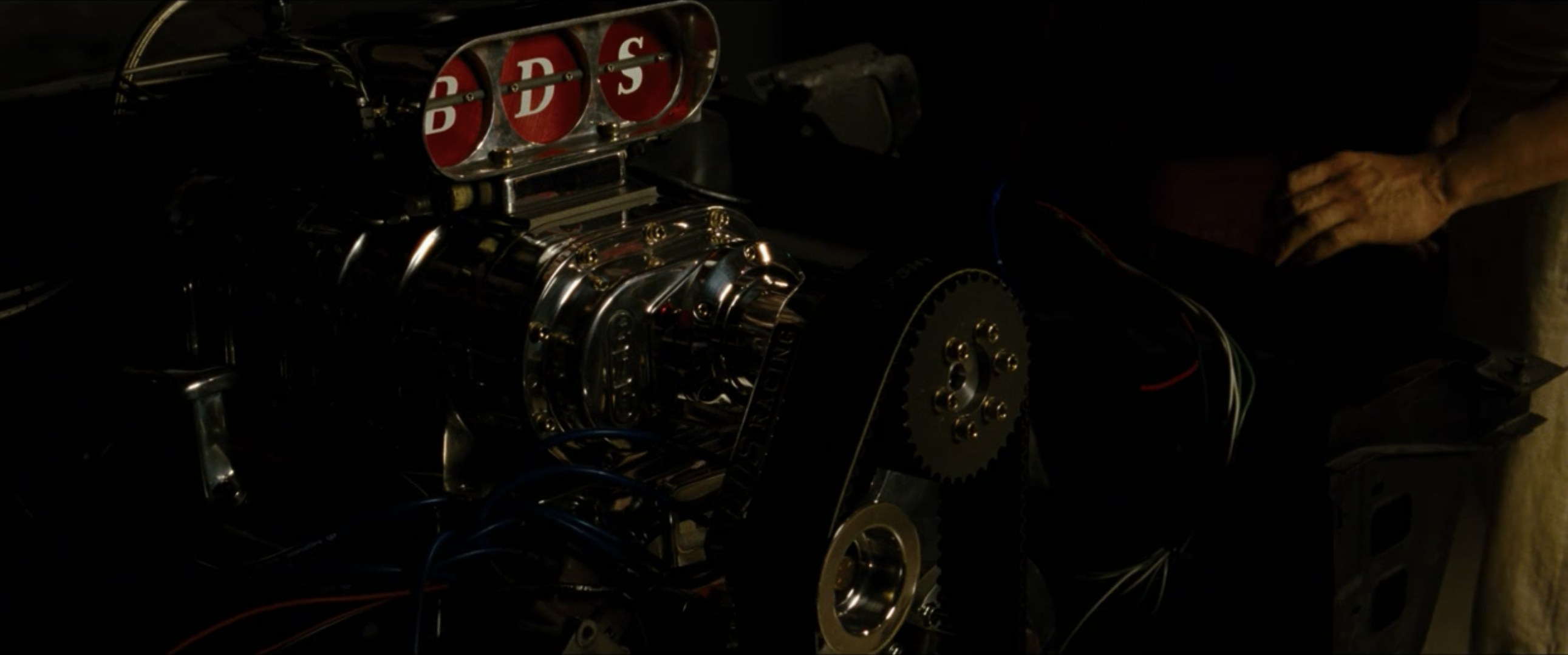 Dom Charger engine