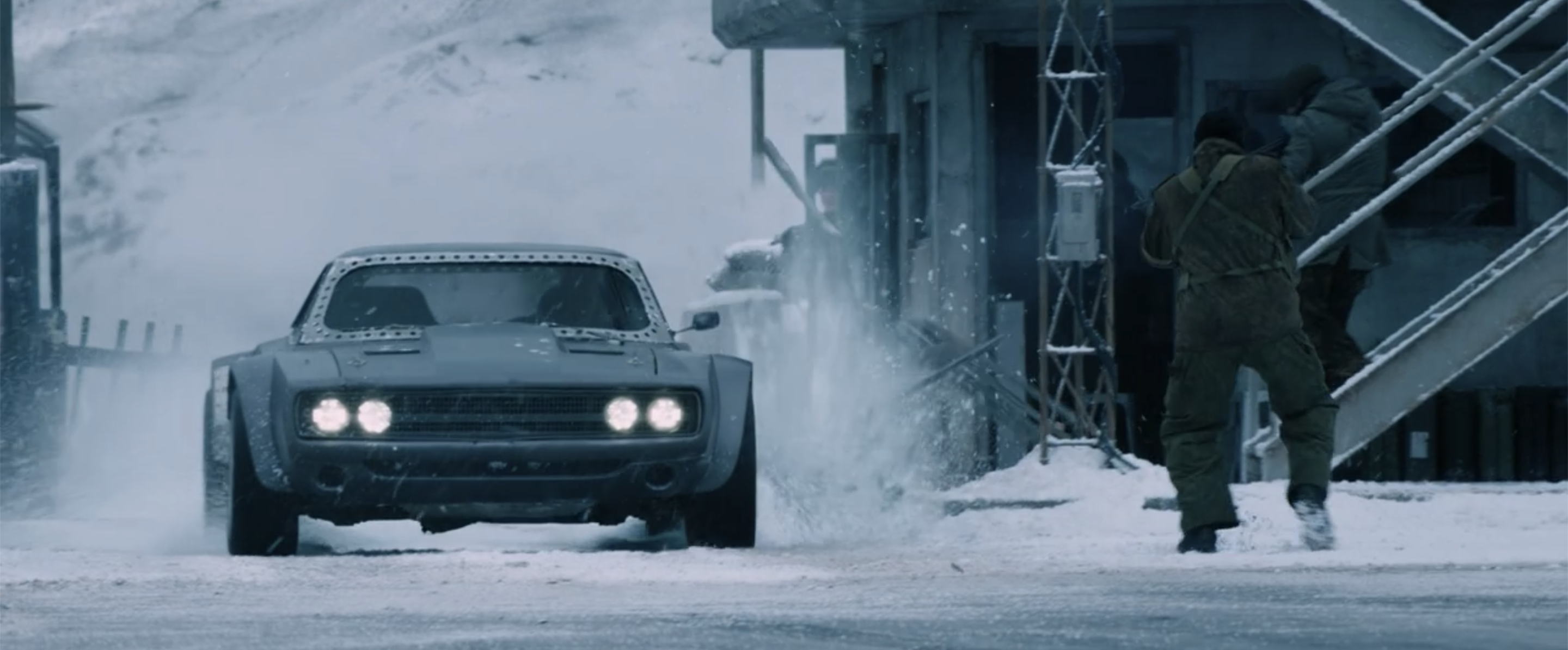 Fast Furious Ice Charger front action