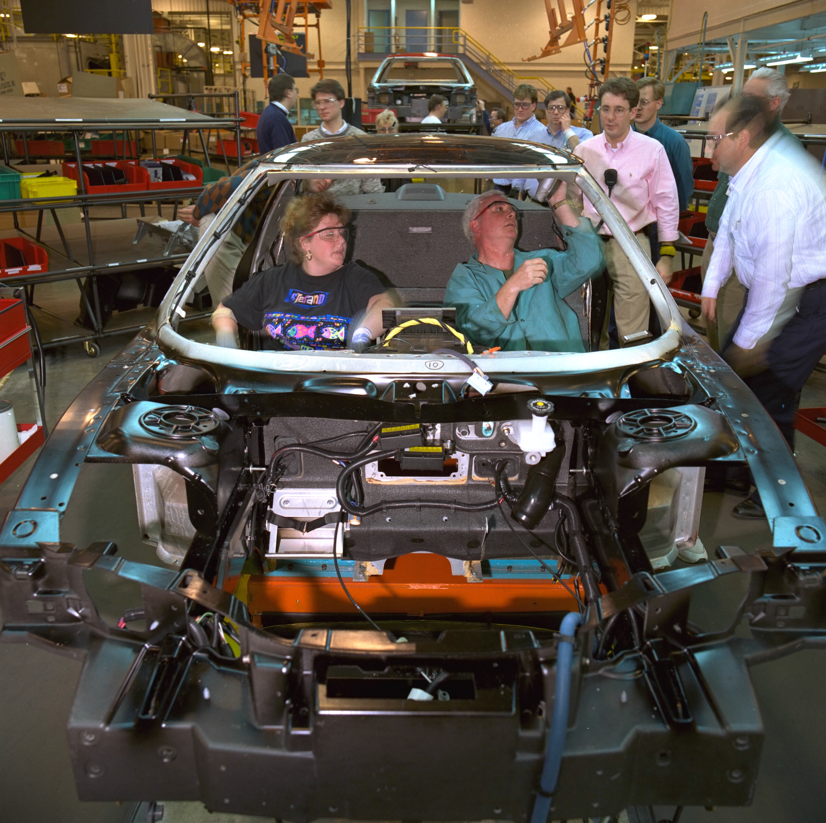 Early GM assembly action