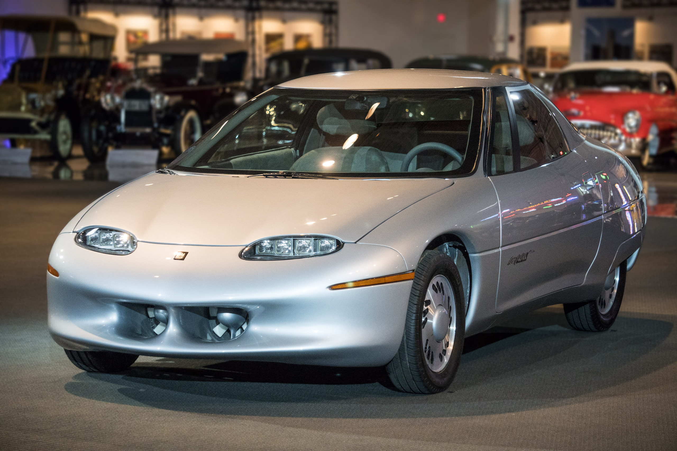 1990 GM Impact Electric Concept Vehicle front three-quarter