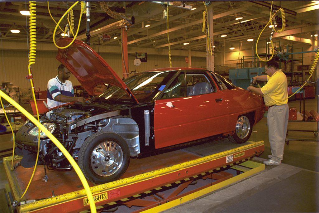 1996 Advanced Technology Vehicle EV1 assembly