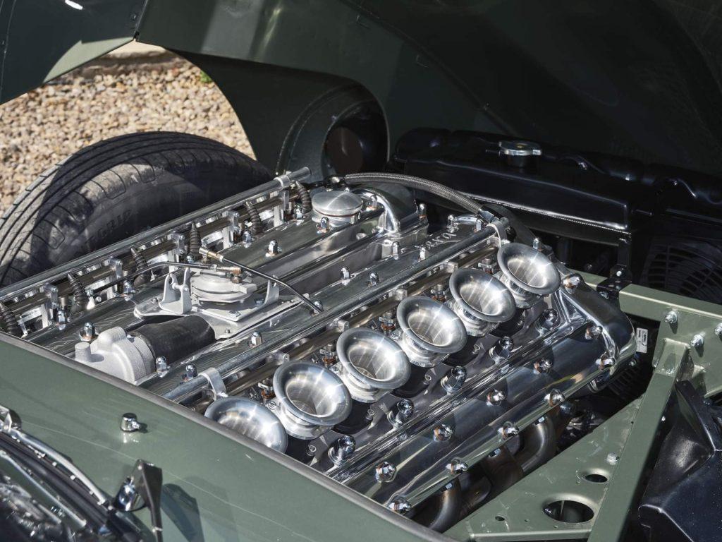 Building the Legend E-type engine
