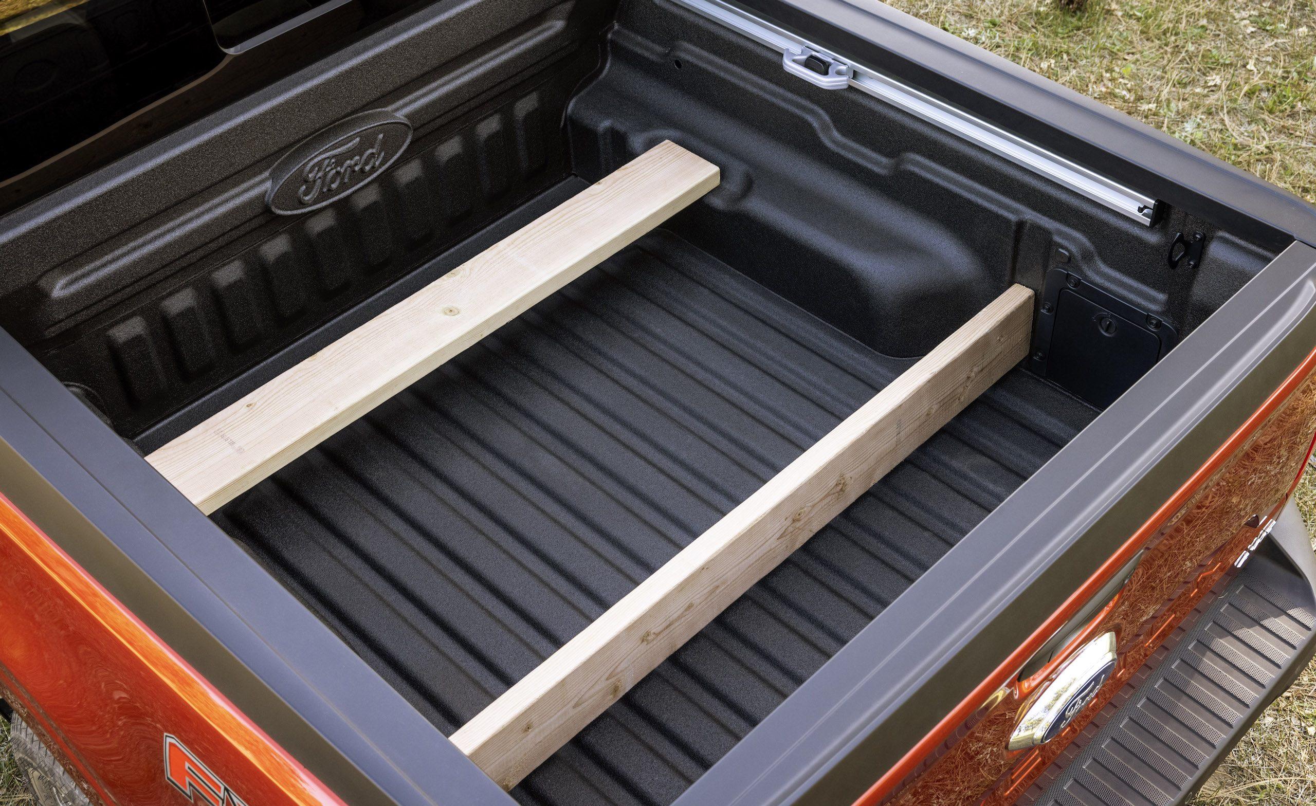 Maverick Ecoboost rear wood