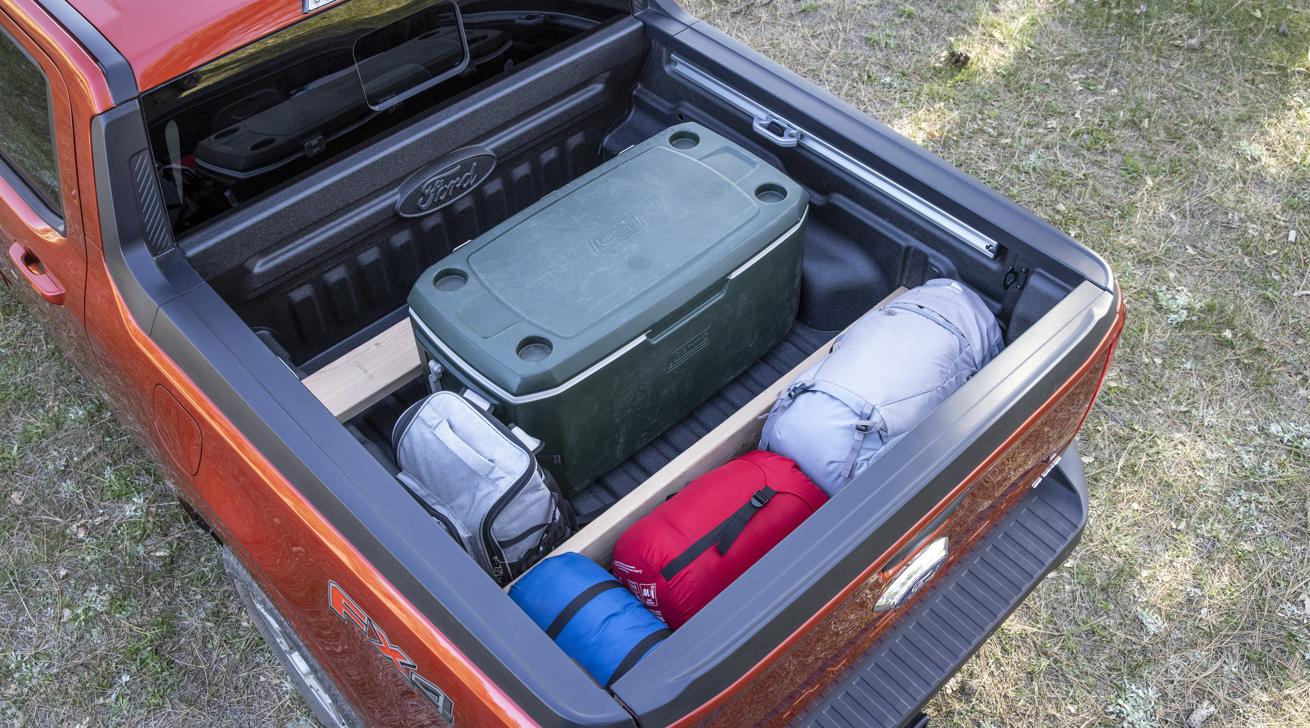 Maverick Ecoboost rear cargo bed