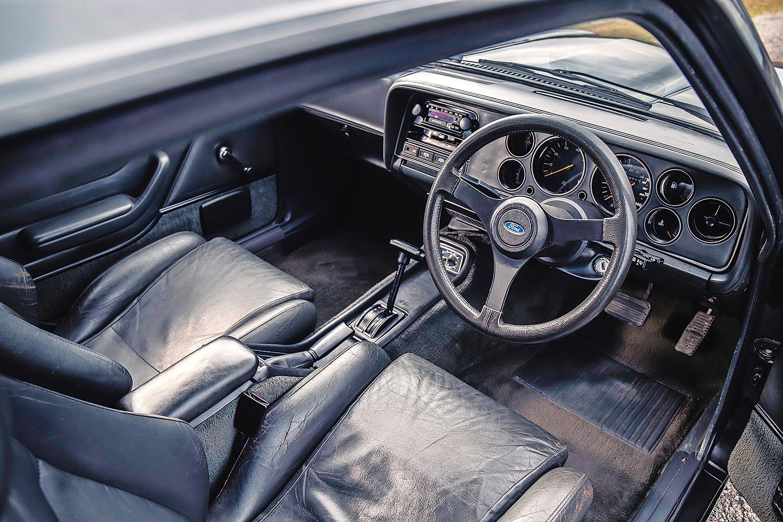 Henry Ford Capri interior cockpit