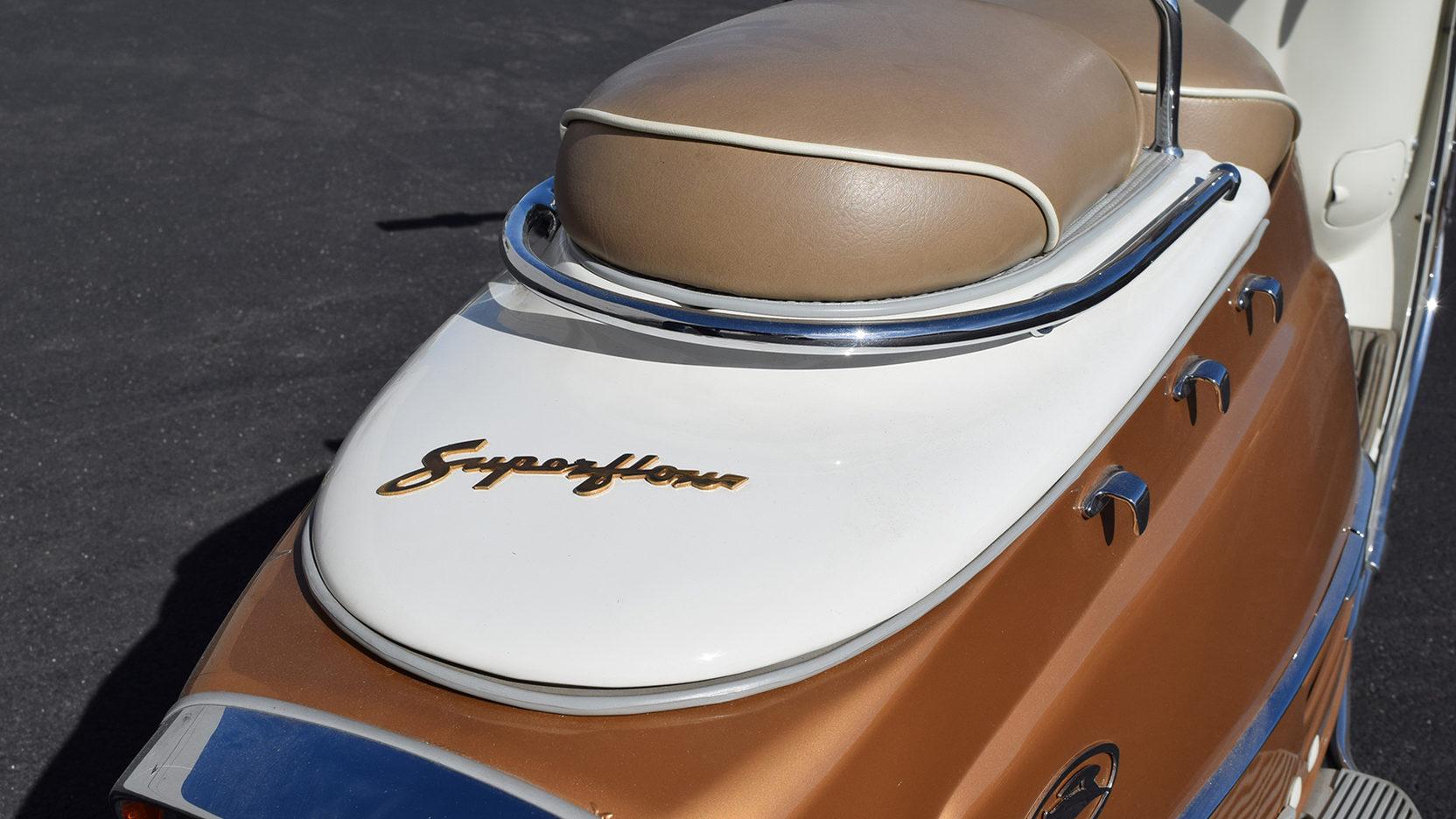 1959 fuji rabbit scooter rear superflow