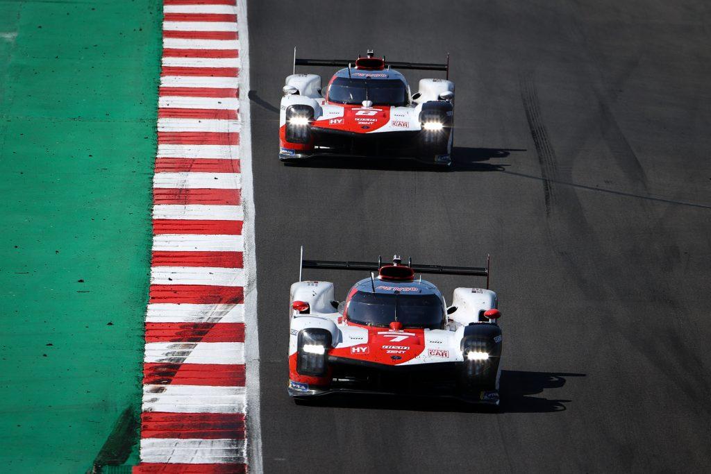 FIA World Endurance Championship Toyota Gazoo Racing GR010 hybrids