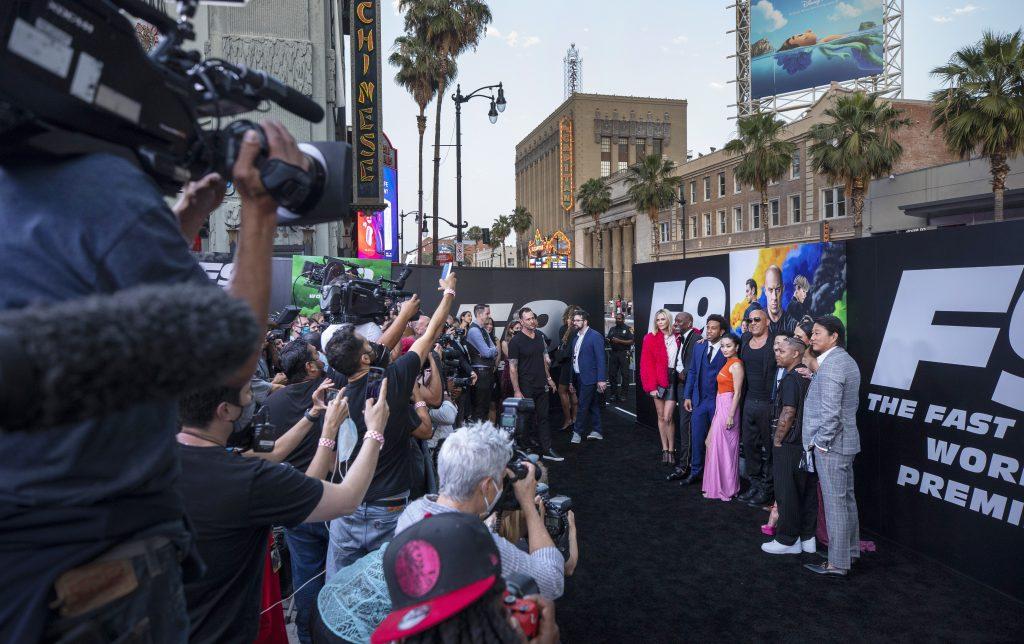 fast furious cast f9 premiere carpet event