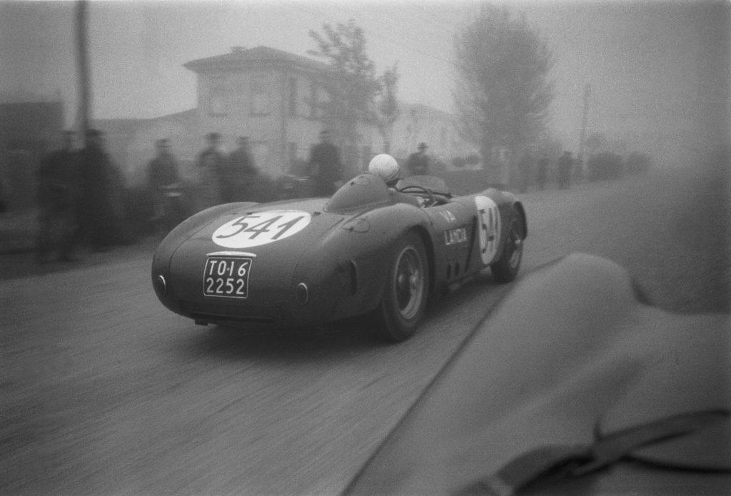 Valenzano Lancia 1954 Mille Miglia