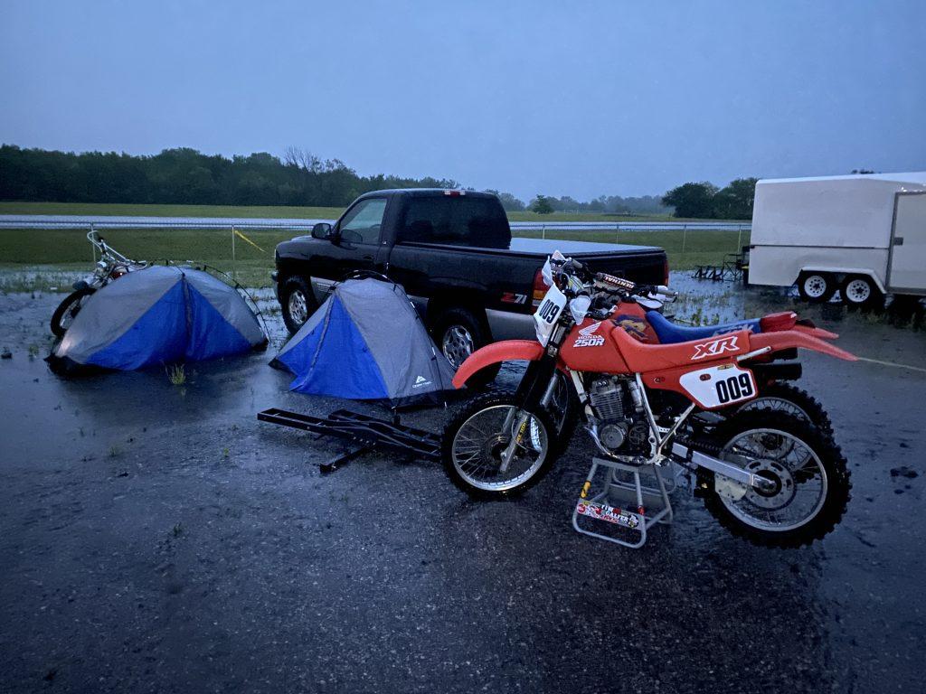 heartland motofest first night camp