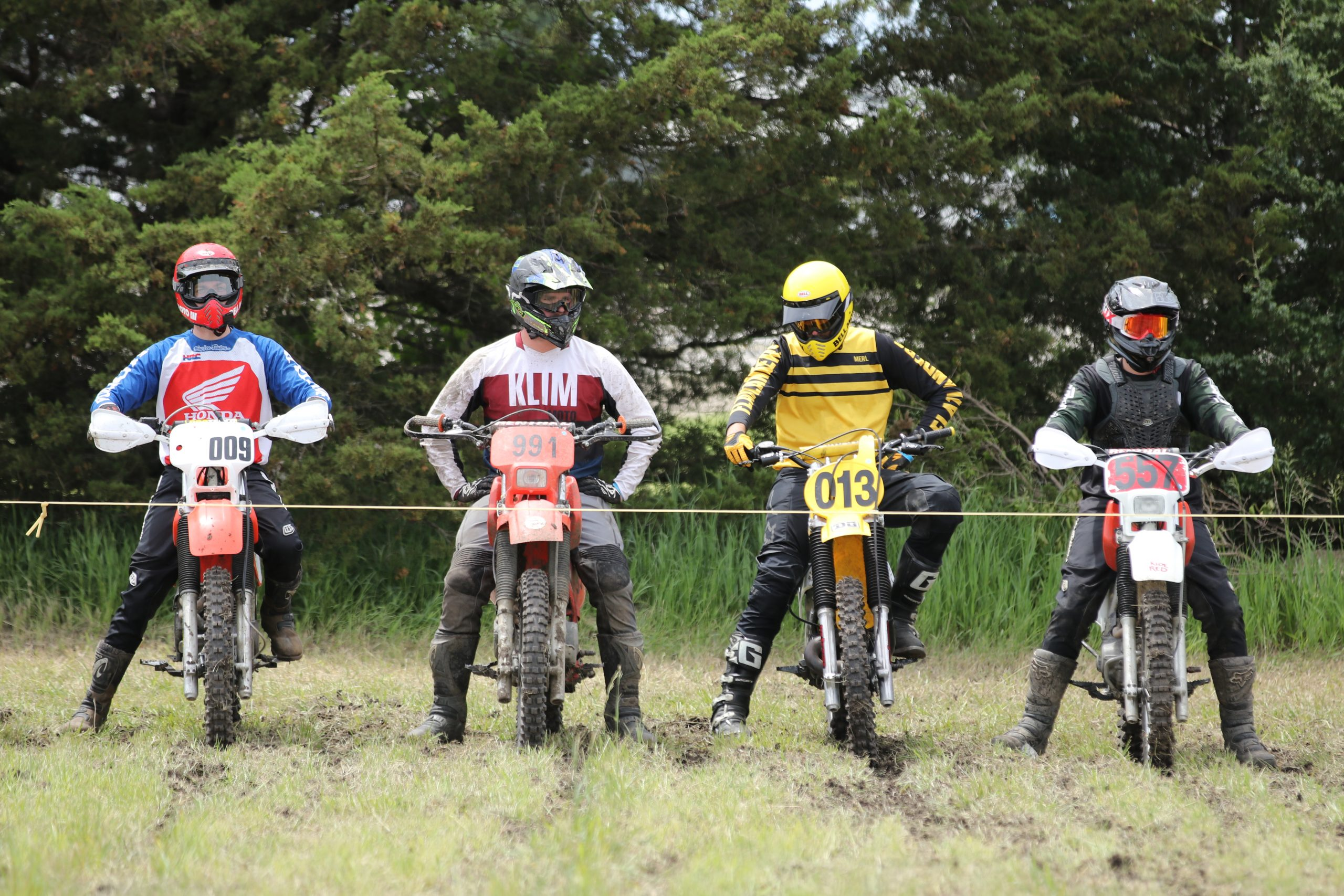heartland motofest Kyle Smith flatlanders starting line