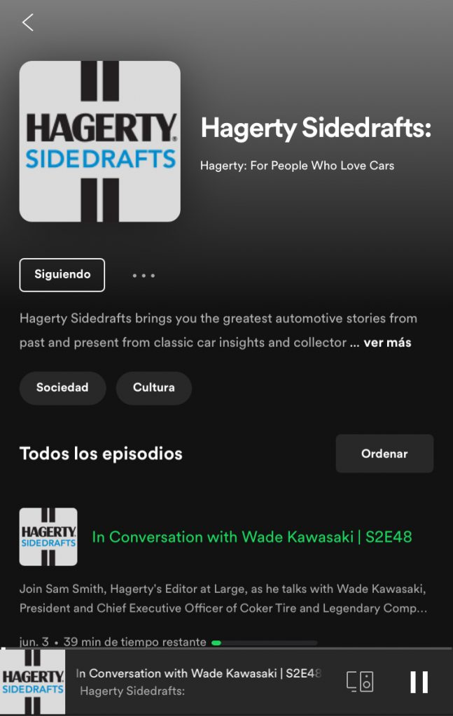 Hagerty Sidedrafts Podcast
