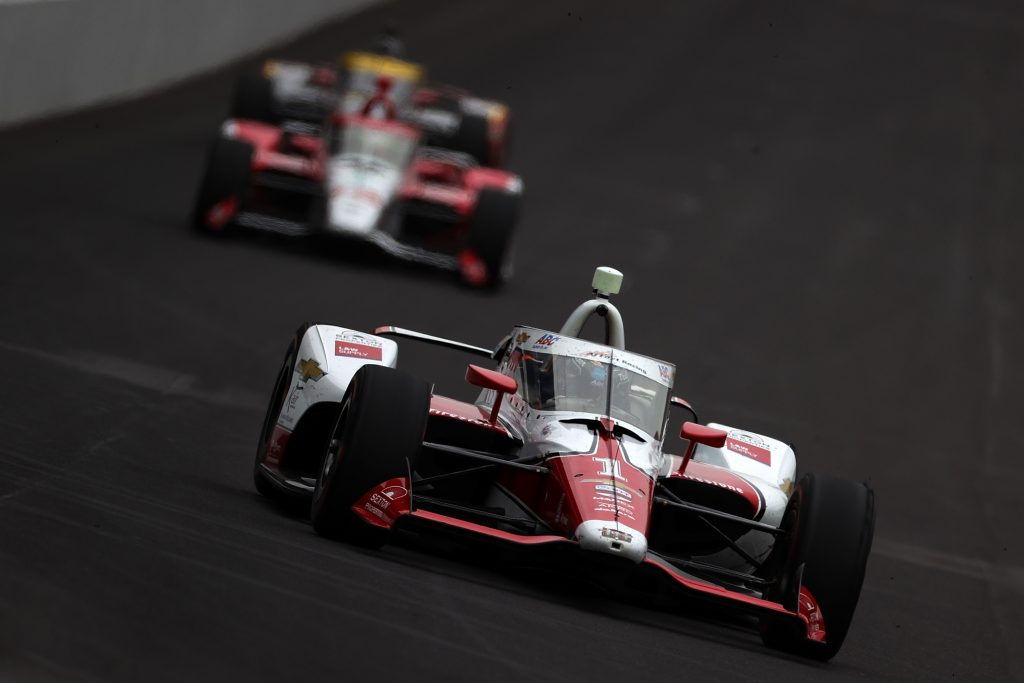 AJ Hildebrand 105th running of the Indianapolis 500