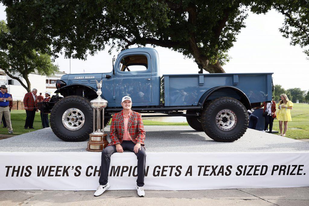 Charles Schwab Challenge Final Round Power Wagon Truck