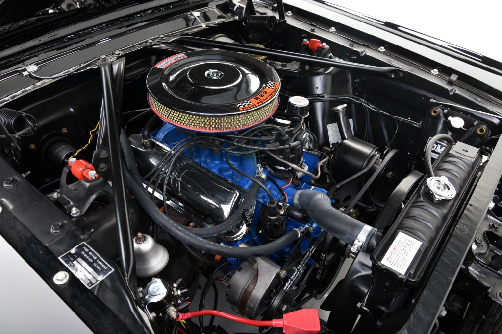 1966 FORD MUSTANG GT K-CODE CONVERTIBLE engine