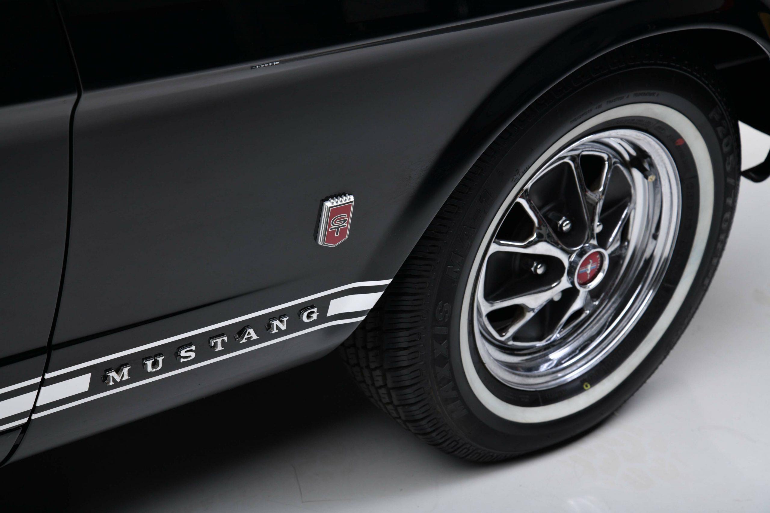 1966 FORD MUSTANG GT K-CODE CONVERTIBLE wheel