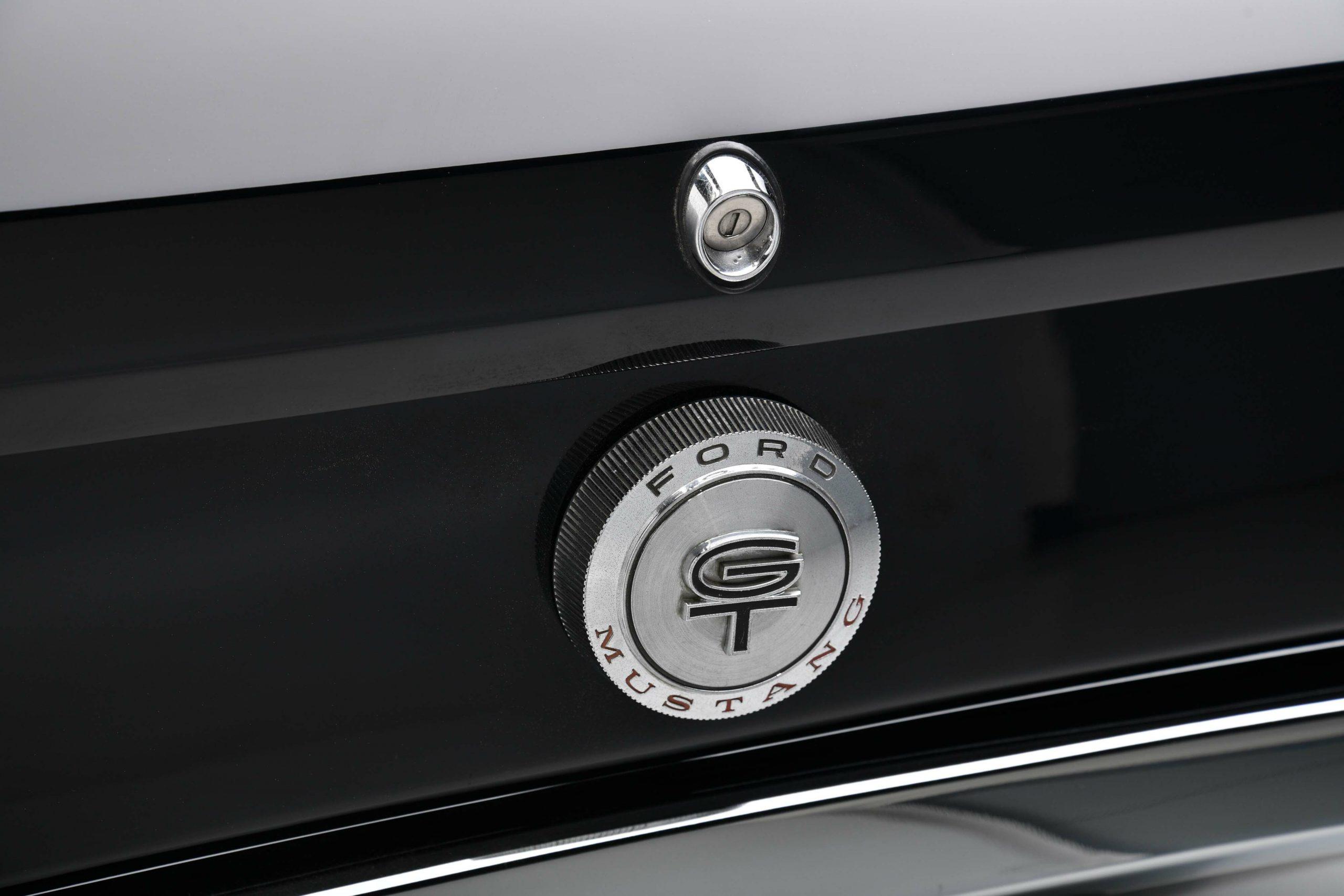 1966 FORD MUSTANG GT K-CODE CONVERTIBLE rear trunk detail