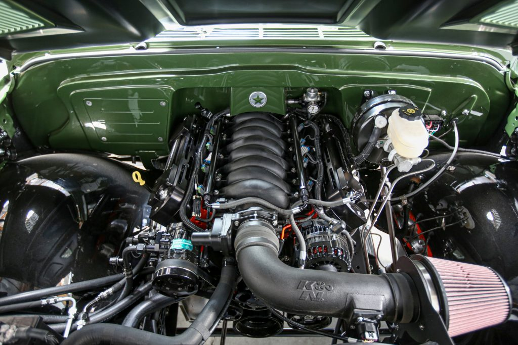 K5 Blazer engine