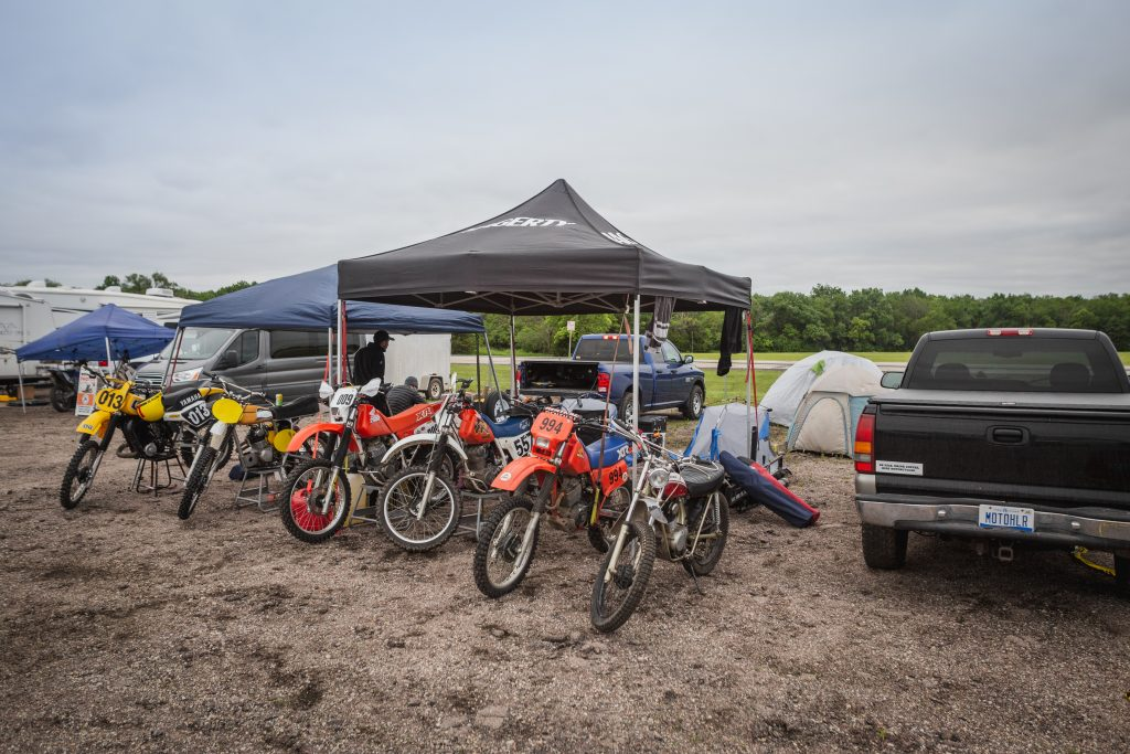 heartland motofest Kyle Smith flatlanders tent