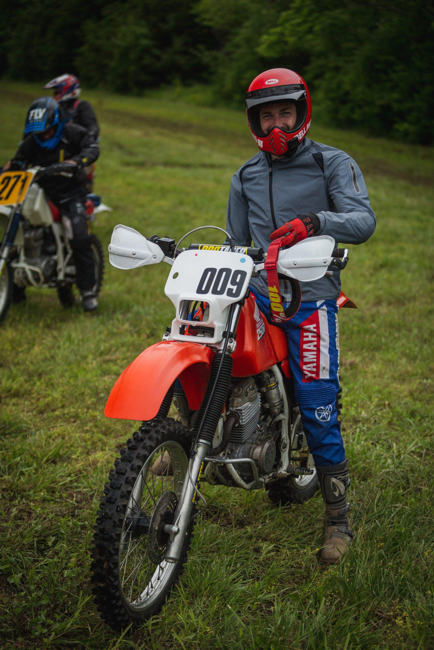 heartland motofest Kyle Smith cross country starting line