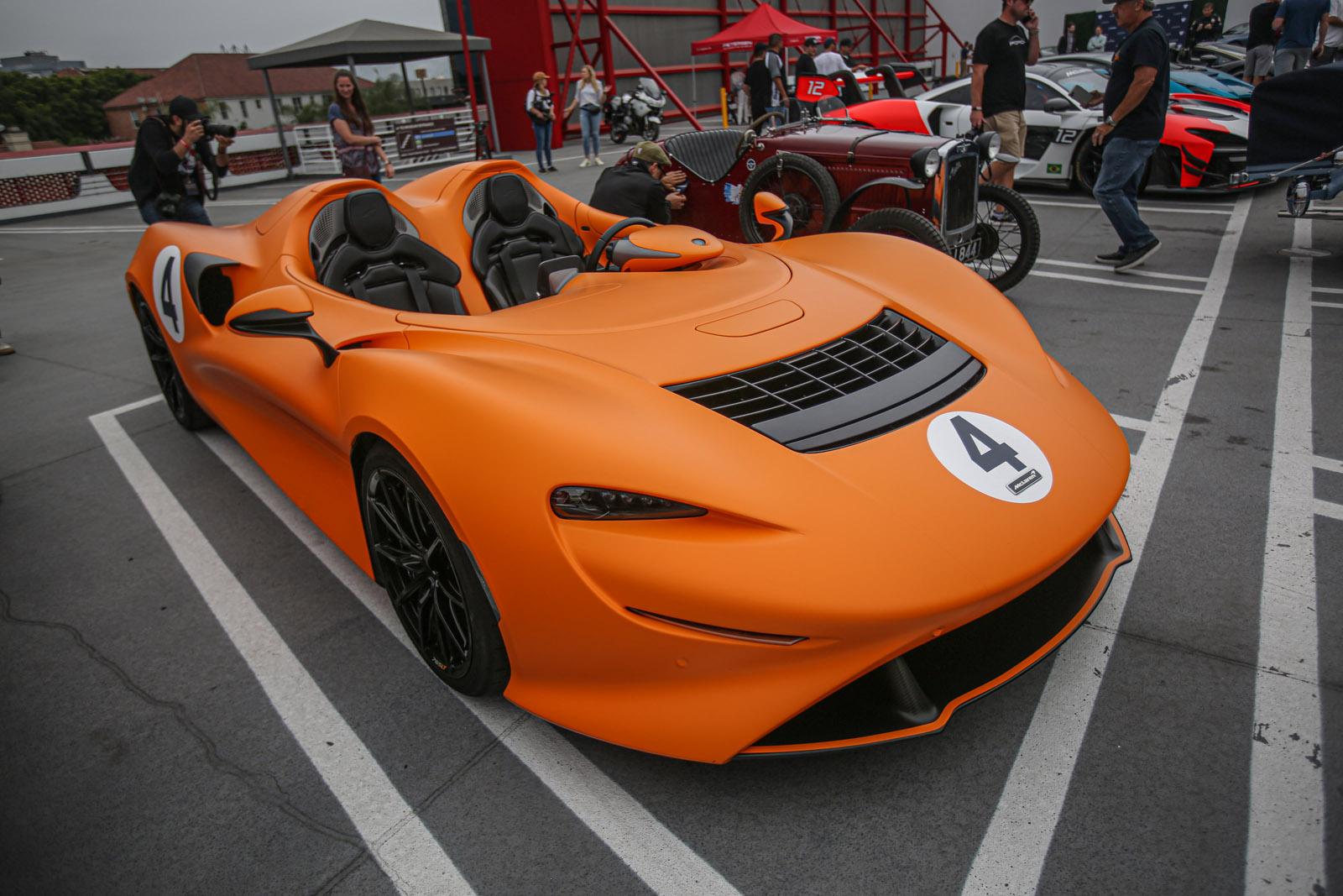 McLaren Elva Beverly Hills Tour