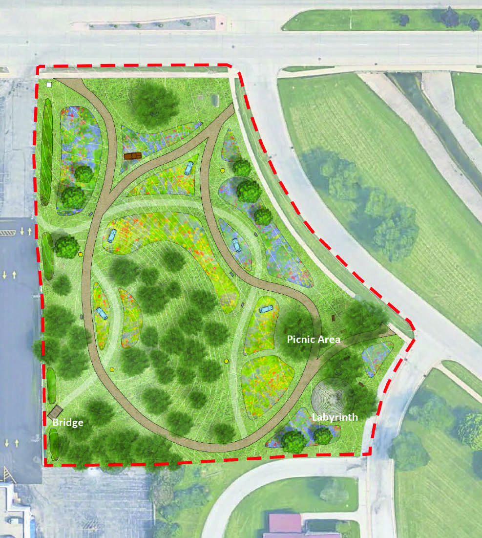 Milwaukee Classic Car Garden - proposed site map