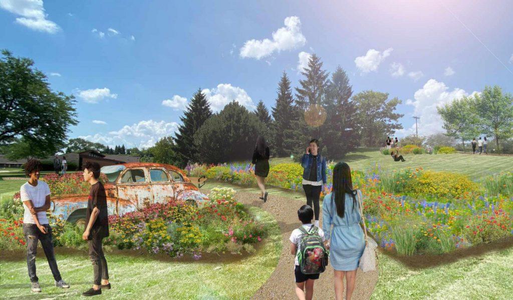 Milwaukee Classic Car Garden - rendering 2