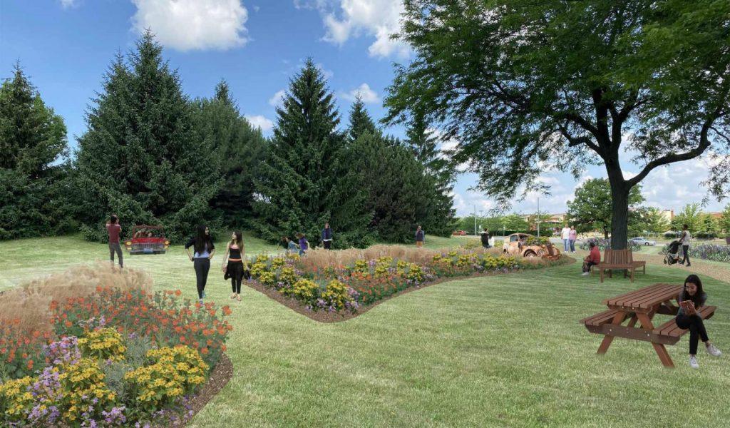 Milwaukee Classic Car Garden - rendering 3