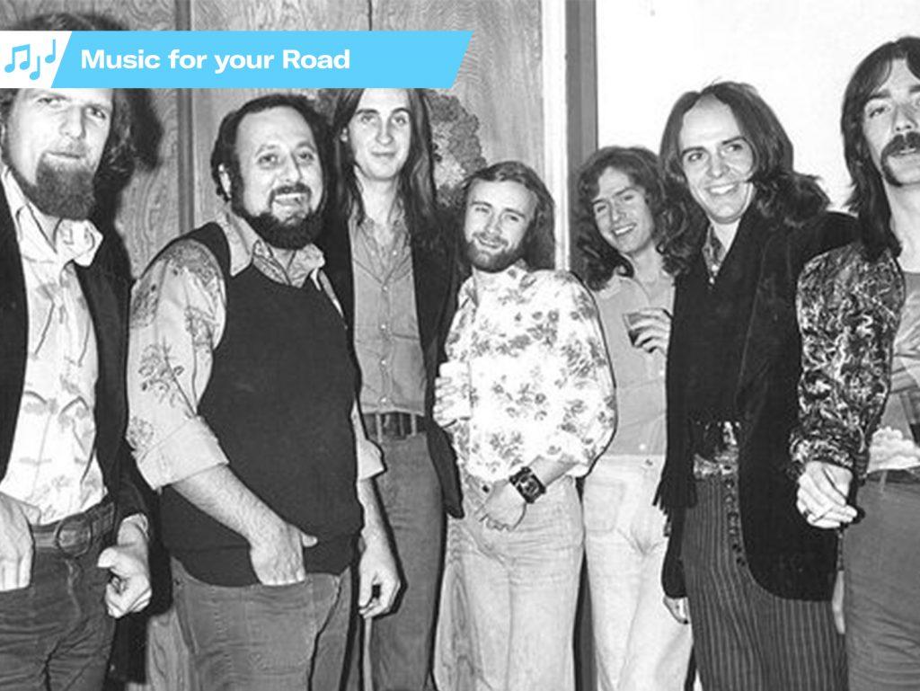 Genesis Band Members circa 1974
