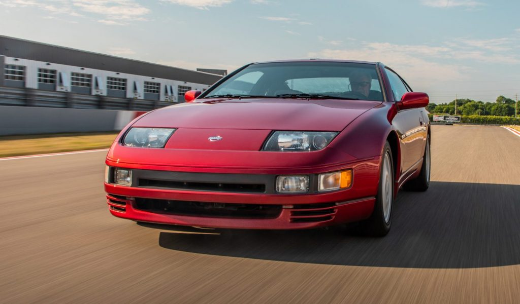 Nissan 300ZX front three-quarter action