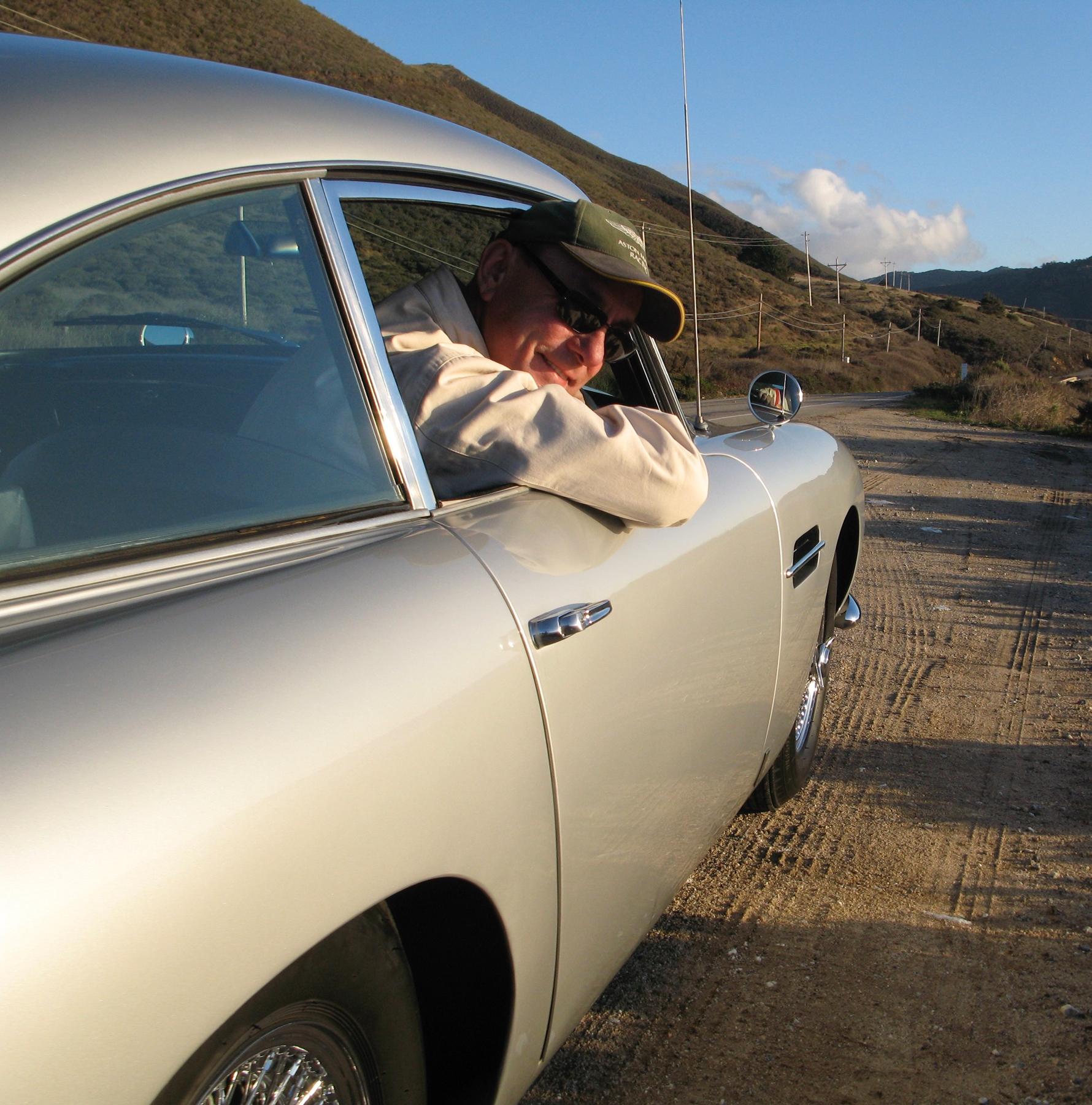 Neil Peart Aston Martin DB5